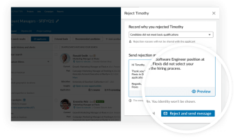 New LinkedIn hiring tools include ability for recruiters to issue bulk rejections to job applicants