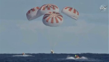 SpaceX Crew Dragon splashdown