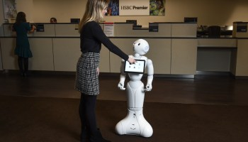 Can a robot spice up the retail banking experience? HSBC's 'Pepper' is now on the job at Seattle branch