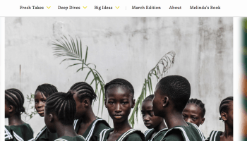 Melinda Gates launches new online platform to highlight inspiring stories, innovative thinkers