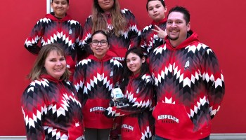 Native American robotics team from rural reservation chases tech dreams at GeekWire Bash