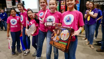 LEGO Lassies, a team of girls from Seattle suburb, ride robotics success to world championships