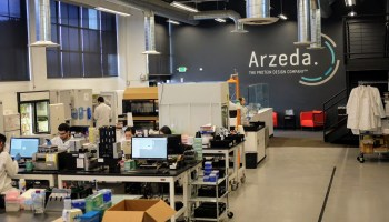 Inside Arzeda's synthetic biology lab, where industrial ingredients are brewed like beer