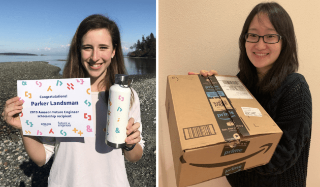 Three Washington girls among 100 winners of first 'Amazon Future ...