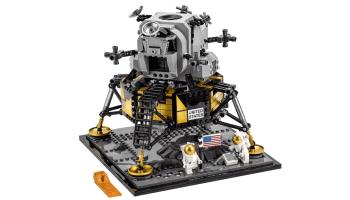 Lego launches a 1,087-piece Apollo 11 lunar lander model, astronauts included