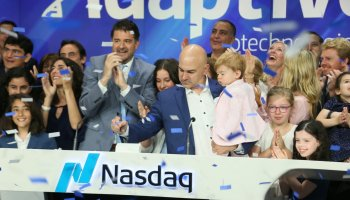 Adaptive Biotechnologies stock soars 90% after ringing Nasdaq opening bell following $300M IPO