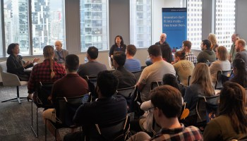 Trust vs. innovation: JPMorgan Chase grapples with tough issues at internal tech forum in Seattle