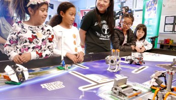 Amazon teams with Seattle schools to inspire underserved students to pursue STEM and robotics