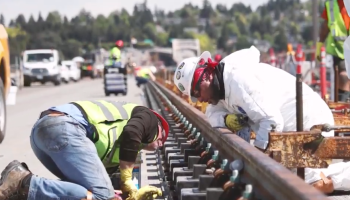 Check out some of the tech and engineering that will enable trains to cross a Seattle floating bridge