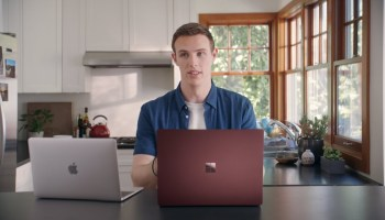 'Mac vs. PC' is back: New Microsoft ad touts Surface Laptop 2, roasts Apple's MacBook