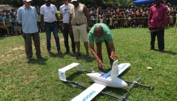 Drones swoop into the Congo to strengthen the country's vaccine supply chain