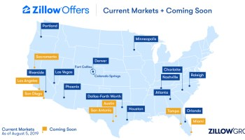 Rapidly growing Zillow Offers direct home sales program opens in 15th market, with more to come