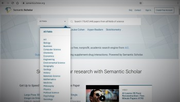 AI2's Semantic Scholar search engine now takes in the full sweep of scientific papers