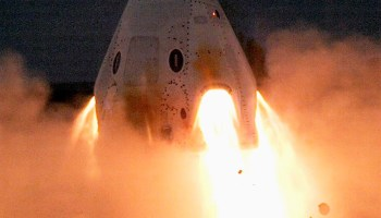 SpaceX static fire