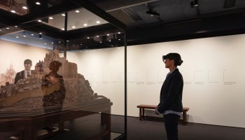 In Seattle exhibition, Microsoft AI and mixed reality power immersive look at historic French monastery