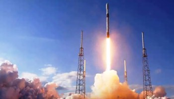 More sparks in the sky: SpaceX launches its fourth batch of 60 Starlink internet satellites