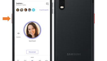 Samsung unveils new smartphone with Microsoft Teams walkie-talkie feature