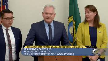 Washington state lawmakers debut legislation for consumer privacy and facial recognition