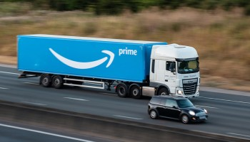 Lawsuit claims Amazon and freight partner worked truck driver 'into the ground,' causing him to crash