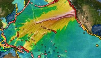Cascadia tsunami simulation