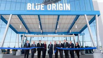 Blue Origin ribbon-cutting in Huntsville