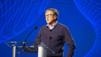 今天在GeekWire峰会:比尔·盖茨在流行病,气候,和世界的未来