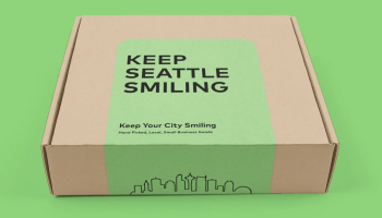 Photo booth startup hit hard by loss of live events pivots to gift boxes to try to 'Keep Your City Smiling'