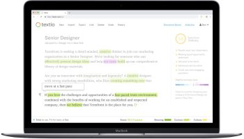 Textio raises $12M as Seattle startup looks to reach job candidates with writing technology