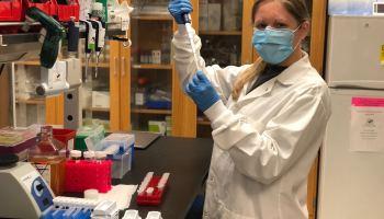 A-Alpha Bio scientist Emily Engelhart