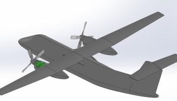氢燃料Dash 8