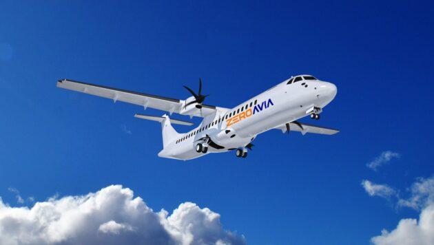 Illustration: ZeroAvia aircraft