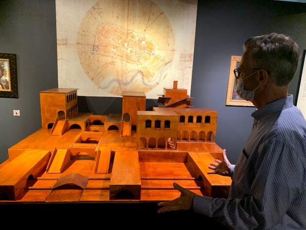 "Seattle exhibit by DaVinci: ""We have Leonardo among us"" Region's innovation spirit"