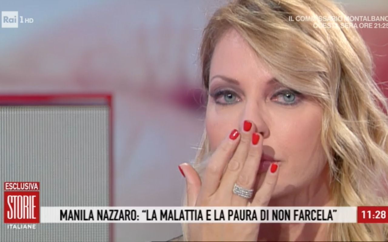 Manila Nazzaro In Lacrime A Storie Italiane Parla Della