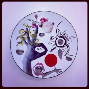 The best decor – Plate Badulaque by Paula Juchem @ Design Gallery Milano, Via Massimiano, Ventura-Lambrate