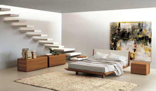 Lusso letto tessuto 2x comodino 3tlg. Interior Design Camera Da Letto Casa Design
