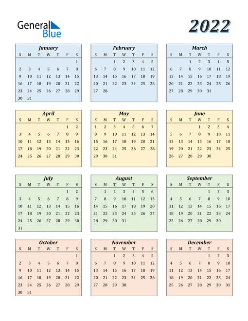 Make every day count with our free 2021 and 2022 printable calendars. 2022 Calendar (PDF, Word, Excel)