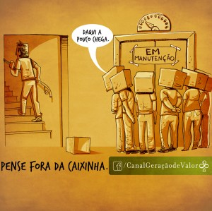 #PenseForaDaCaixa