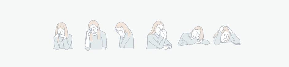 sad expression