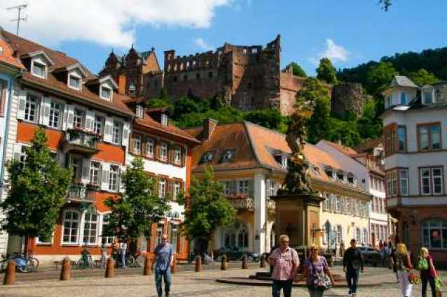 Heidelberg: Private 3-Hour Tour with Castle Visit