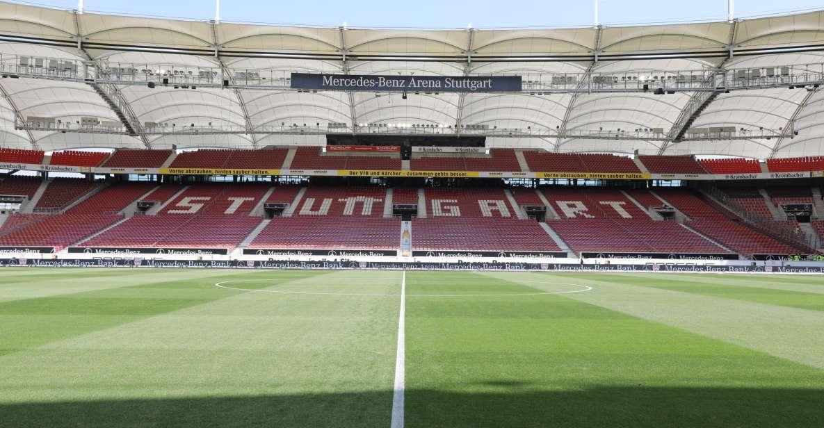 For more information visit marta's website. Mercedes Benz Arena Vfb Stuttgart Stadion Tour Getyourguide