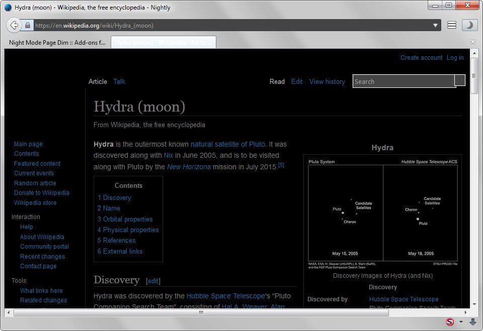 Image Result For Firefox Dark Mode
