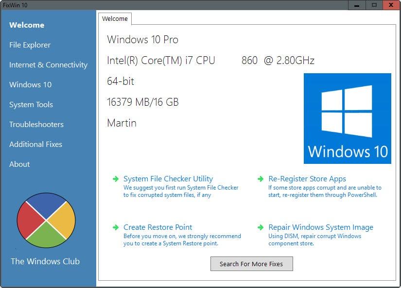 Cara memperbaiki masalah Windows 10 dengan FixWin 10