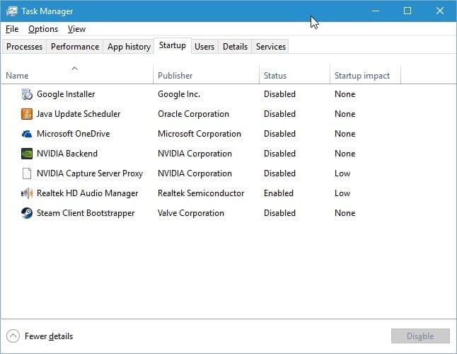 Cara Menonaktifkan NVIDIA Streamer Service