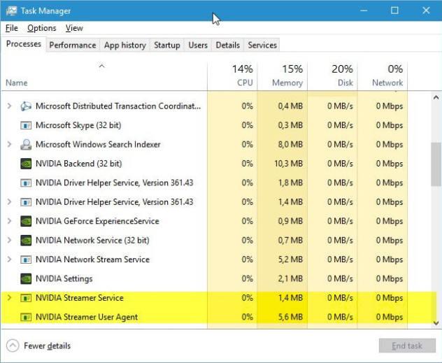 nvidia streamer service