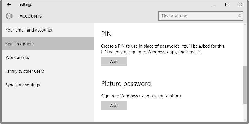 Cara Setting Pin di Windows 10 untuk authentication