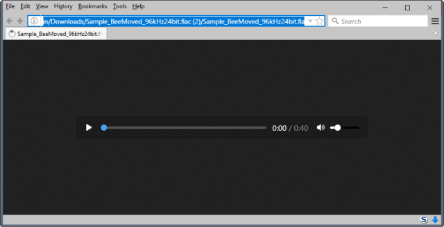 firefox flac support