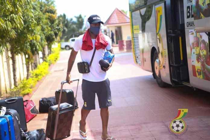 Black Stars arrive in Cape Coast to continue preparations for Sudan clash