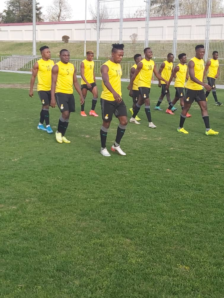 43-players invited to Black Stars 'B' camp on Wednesday