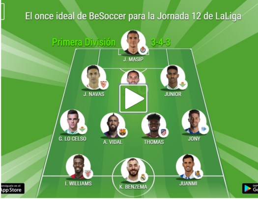 Image result for Thomas Partey named in La Liga team of the week