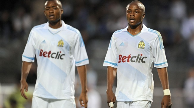 Image result for André, Jordan and Ibrahim ayew